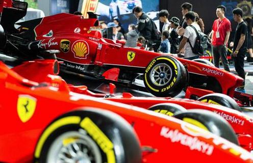 F1上海站,决赛打响!am8国际法拉利车队可堪一战?